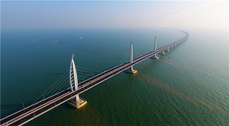 河钢集团24万吨高强钢建功港珠澳大桥